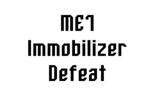 06a-technik - ME7 Immobilizer Defeat - Automotive