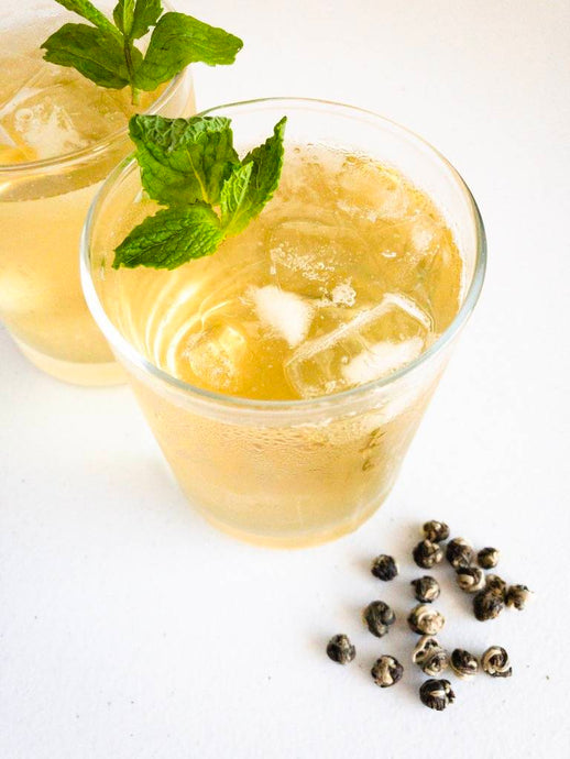 Jasmine Pearl Mint Tea