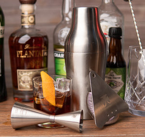 Bartender's Choice - 4 Piece French Cocktail Shaker Set