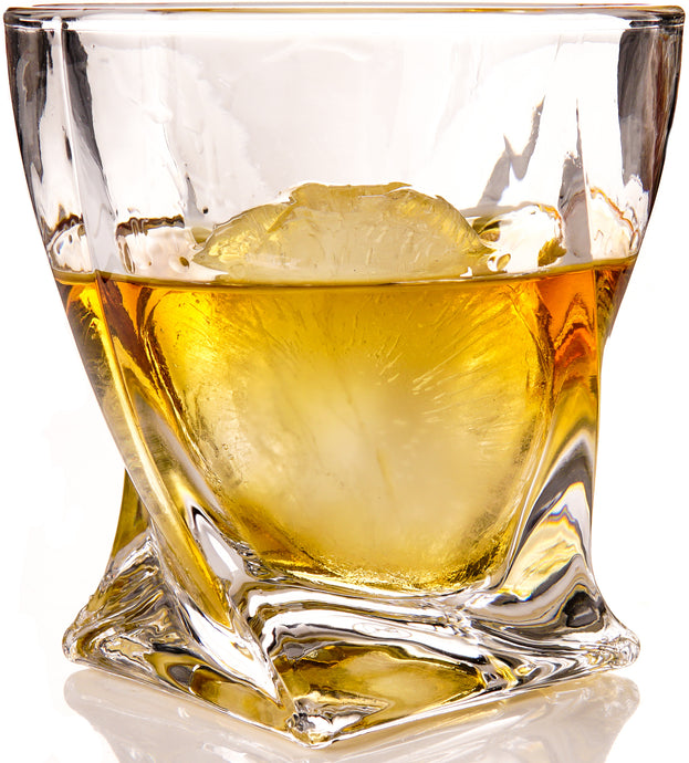 THE ROCKS Whiskey Glass and Ice Set, The Charles design