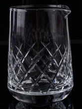 Dealer's Choice Cocktail Mixing Glass, Crystal Lake design