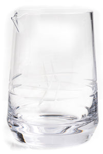 Dealer's Choice Cocktail Mixing Glass, Dolan Pond design