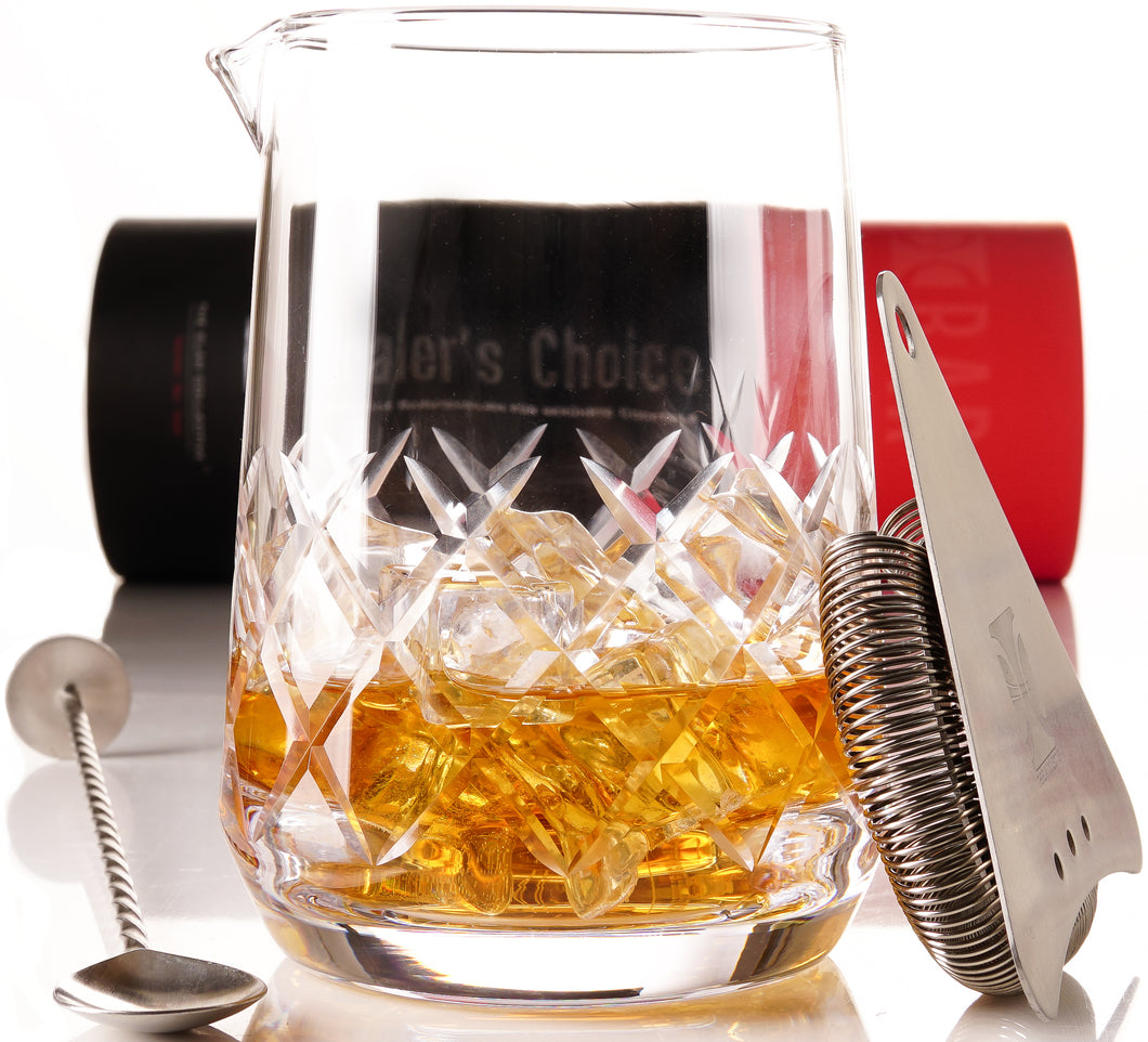Dealer's Choice Yarai Cocktail Mixing Glass Set