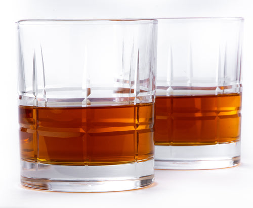 THE ROCKS, Whiskey Glass Set, The Braeburn design