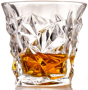 The Stanley Whiskey Glass Set with large Ice Sphere Molds