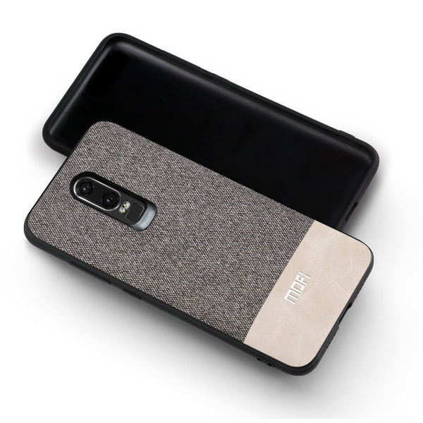 OnePlus 6 Silicone Edge Shockproof Back Cover