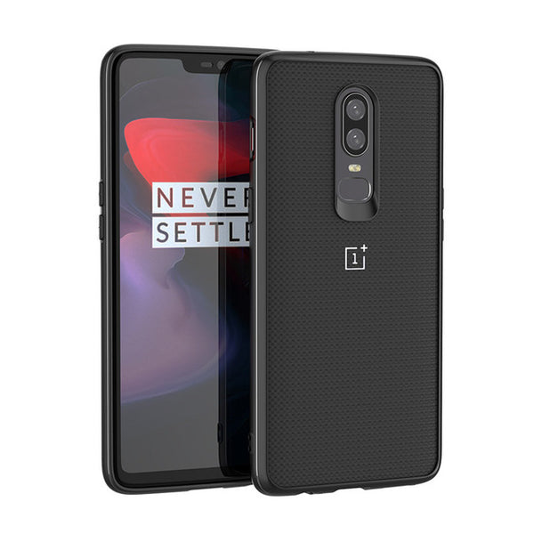 Nylon Carbon Fiber Pattern Oneplus 6 back cover