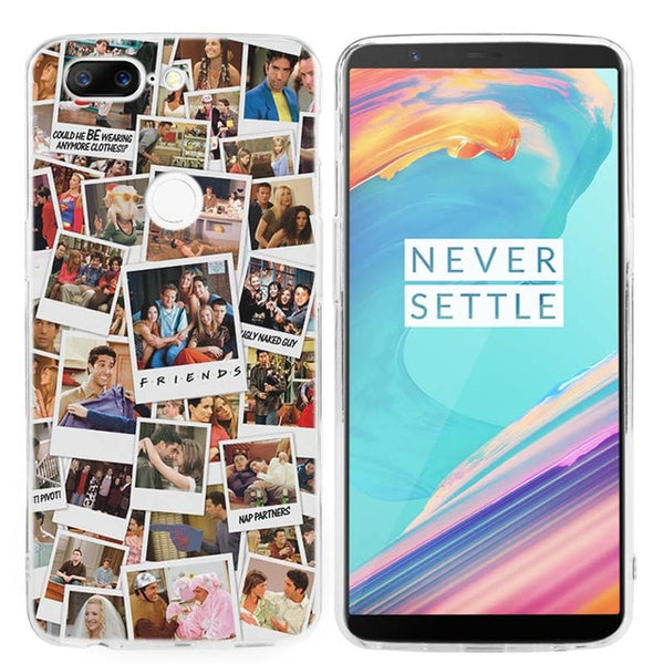 Friends Ultra Thin Transparent Soft Case Cover