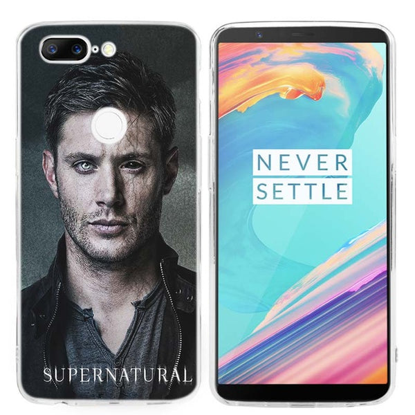 Supernatural Ultra Thin Transparent Soft Case Cover