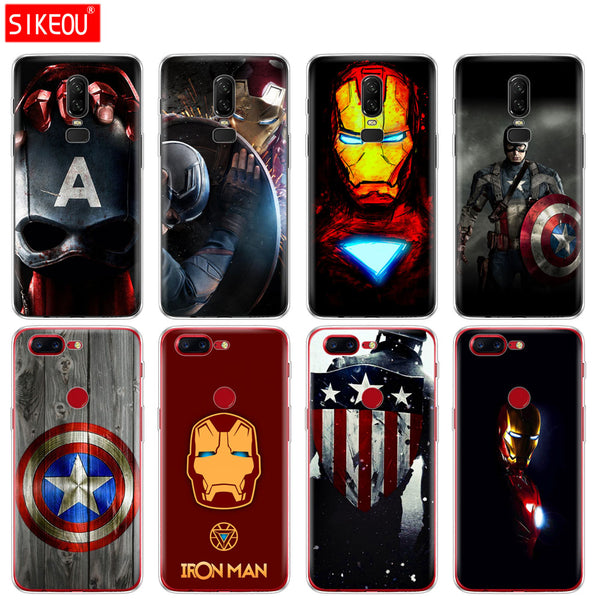 Marvel super heroes phone case for Oneplus