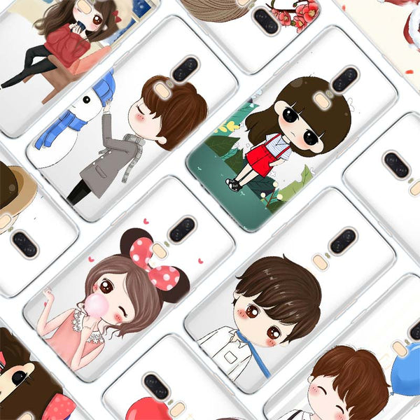 Cartoon Lovely Girl Case for Oneplus