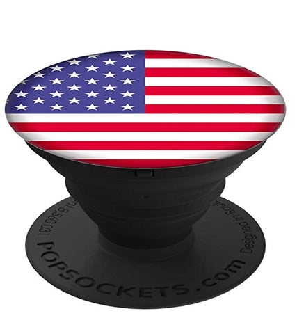 USA Flag Pop Socket