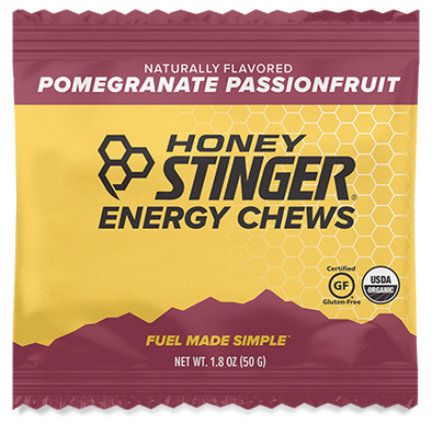 Honey Stinger Organic Energy Chews - Pomegranate Passion Case of 12 $2.39/Pack