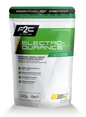 F2C Electro-Durance™ - 250 Servings (340g)/ $44.99