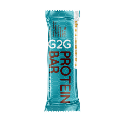 G2G Protein Bar - Almond Chocolate Chip Pack of 4/$14.25