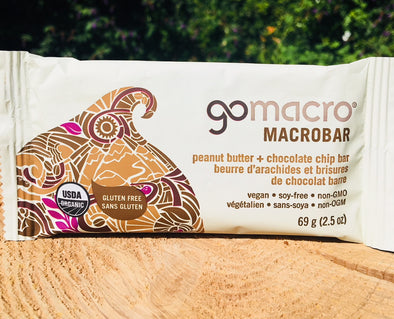 GoMacro Macrobar - Peanut Butter Chocolate Chip Case of 12 $3.39/Bar