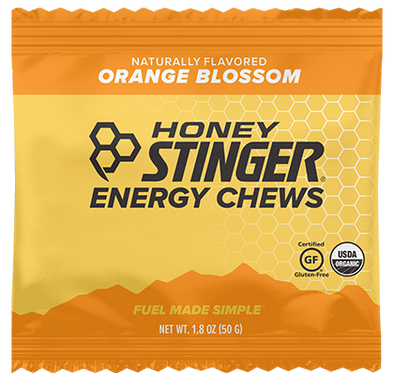 Honey Stinger Organic Energy Chews - Orange Blossom Case of 12 $2.39/Pack