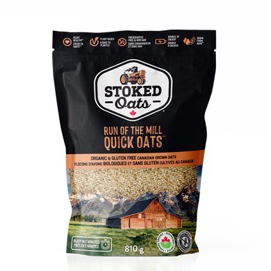 Stoked Oats - Run of the Mill QUICK OATS $9 Bag