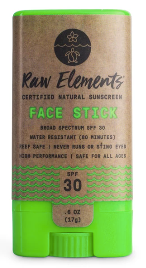 Raw Elements  FACE STICK SPF 30 $14.99