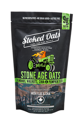 Stoked Oats - Stone Age Oats