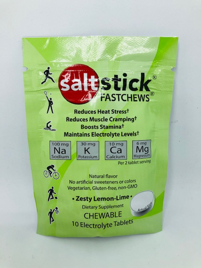 SaltStick Fastchews Lemon-Lime 10 per pack/$4.19