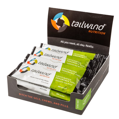 Tailwind Caffeinated Endurance Fuel - Green Tea Buzz 12 Pack/ $3.19 per Packet