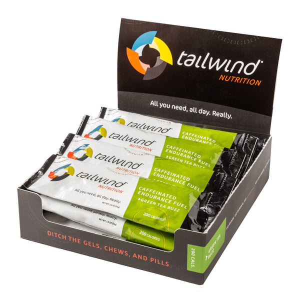 Tailwind Caffeinated Endurance Fuel - Green Tea Buzz $3.39 Each/ 6 Packs