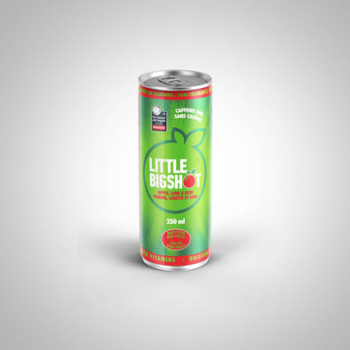 Little Big Shot - Apple Kiwi Lime Case of 12 $2.39/Can