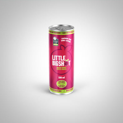 Little Big Shot - Mixed Berry Case of 12 $2.39/Can