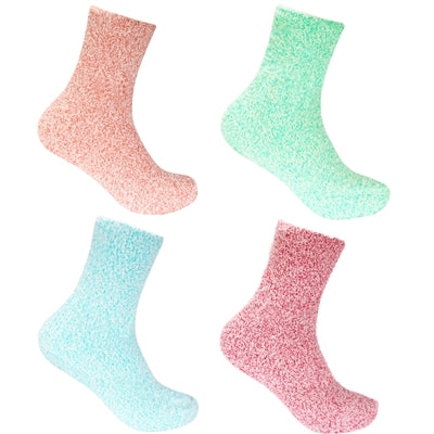 Feather Soft Socks - 4 Pairs