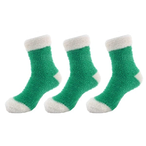 Feather Light Cuff Socks - 3 Pairs