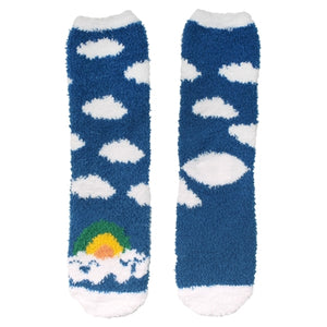 Unicorn Series Fuzzy Crew Socks