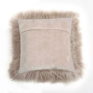 Tibetan Sheep Fur Square Pillows