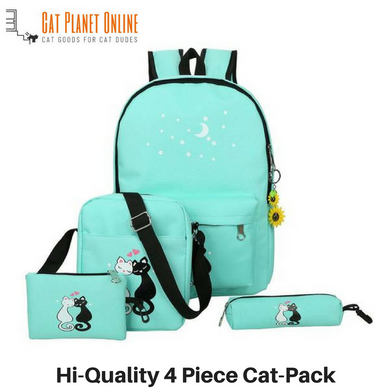 Bright & Colorful Cat-Pack With 4pcs - Cat Planet Online