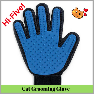 Cat Grooming De-shedding Brush Glove (1 RIGHT HAND GLOVE ONLY) - Cat Planet Online