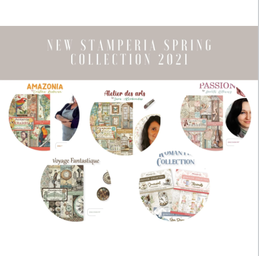 NEW Stamperia Spring 2021 Collection
