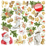 Fabrika Decoru 'Awaiting Christmas' 8x8 Pad -FDSP-02078