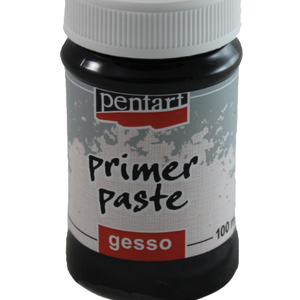 Pentart Primer Paste Gesso Black- 100ml