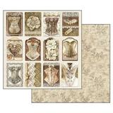 "Stamperia 'Old Lace' - 12"" x 12"" Paper Pad - SBBL32"