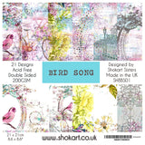 "NEW ShokART ""Bird Song"" - 8"" x 8"" Paper Pad- Limited Edition- SHBS01"