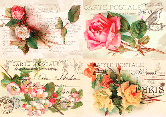 NEW Fabrika Decoru 'Carte Postal' - FDCD-0094