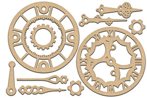 NEW Fabrika Decoru 'Clocks' MDF Elements  - FDSBK-180