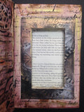 Mixed Media Altered Secret Book (Kamloops BC) - April 26th