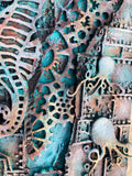 Mixed Media Seahorse - Volcanic Hills Estate Winery Sept 12th 2020