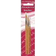 Stamperia - Set 3 Round Tip Brushes 2- 6-10 - KR102B