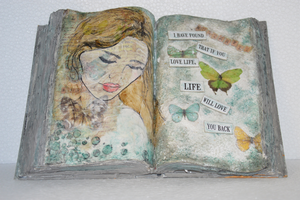 Altered Book - Volcanic Hills Estate Winery March 21st 2020