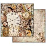 "Stamperia 'Clockwise' - 12"" x 12"" Paper Pad - SBBL39"