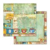 "Stamperia 'Patchwork' - 12"" x 12"" Paper Pad - SBBL49"