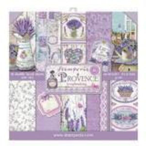 "Stamperia Provence Collection - 12"" x 12"" Paper Pad SBBL51"