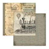 "Stamperia Voyage Fantastiques Collection - 12"" x 12"" MAXI Paper Pad SBBLXL01"